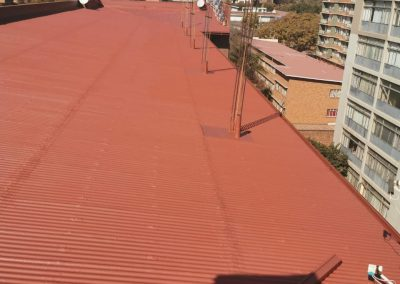 Water Proofing at Los Angeles Building